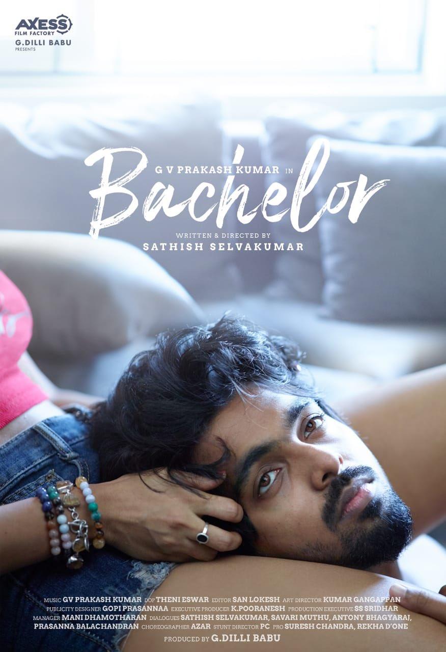 GV Prakash Bachelor Movie First Look Released