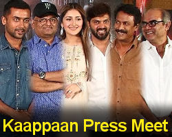 Kaappaan Movie Press Meet Photos