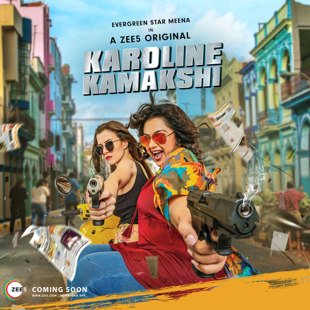 Meena Karoline Kamakshi Web Series Poster