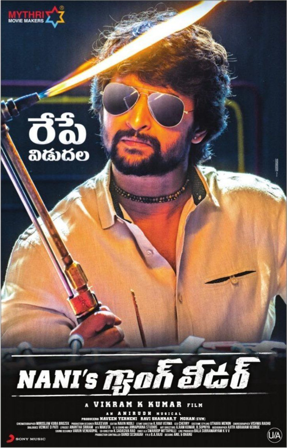 Nani Gang Leader Movie Releasing Tomorrow Poster HD
