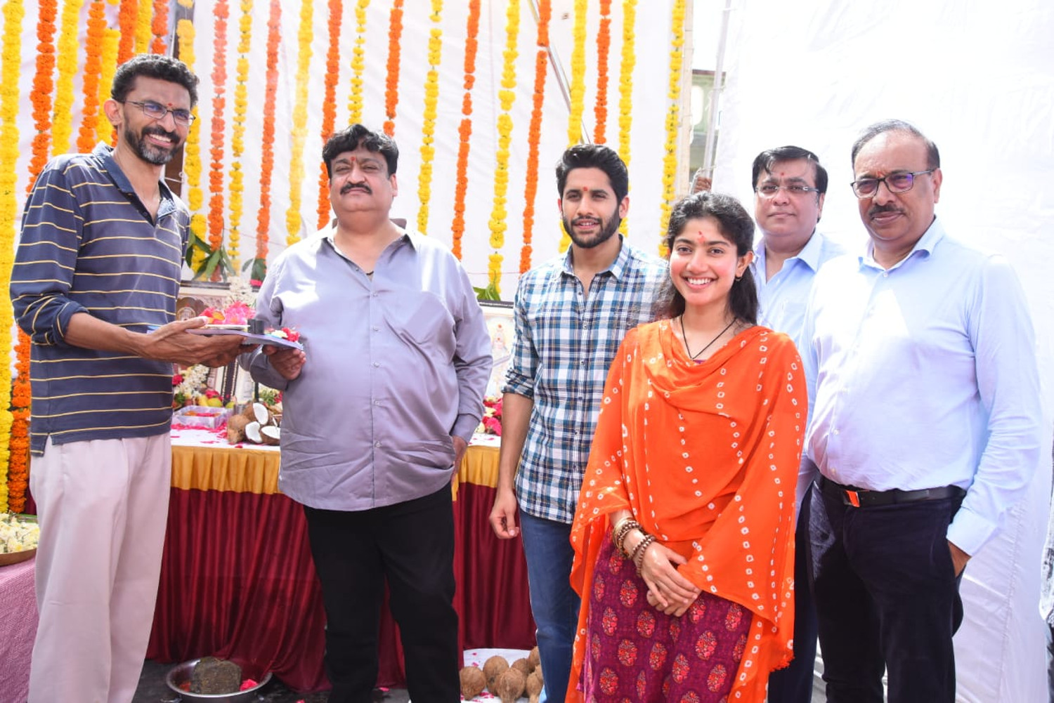 Sekhar Kammula Sai Pallavi Naga Chaitanya Movie Shooting Started