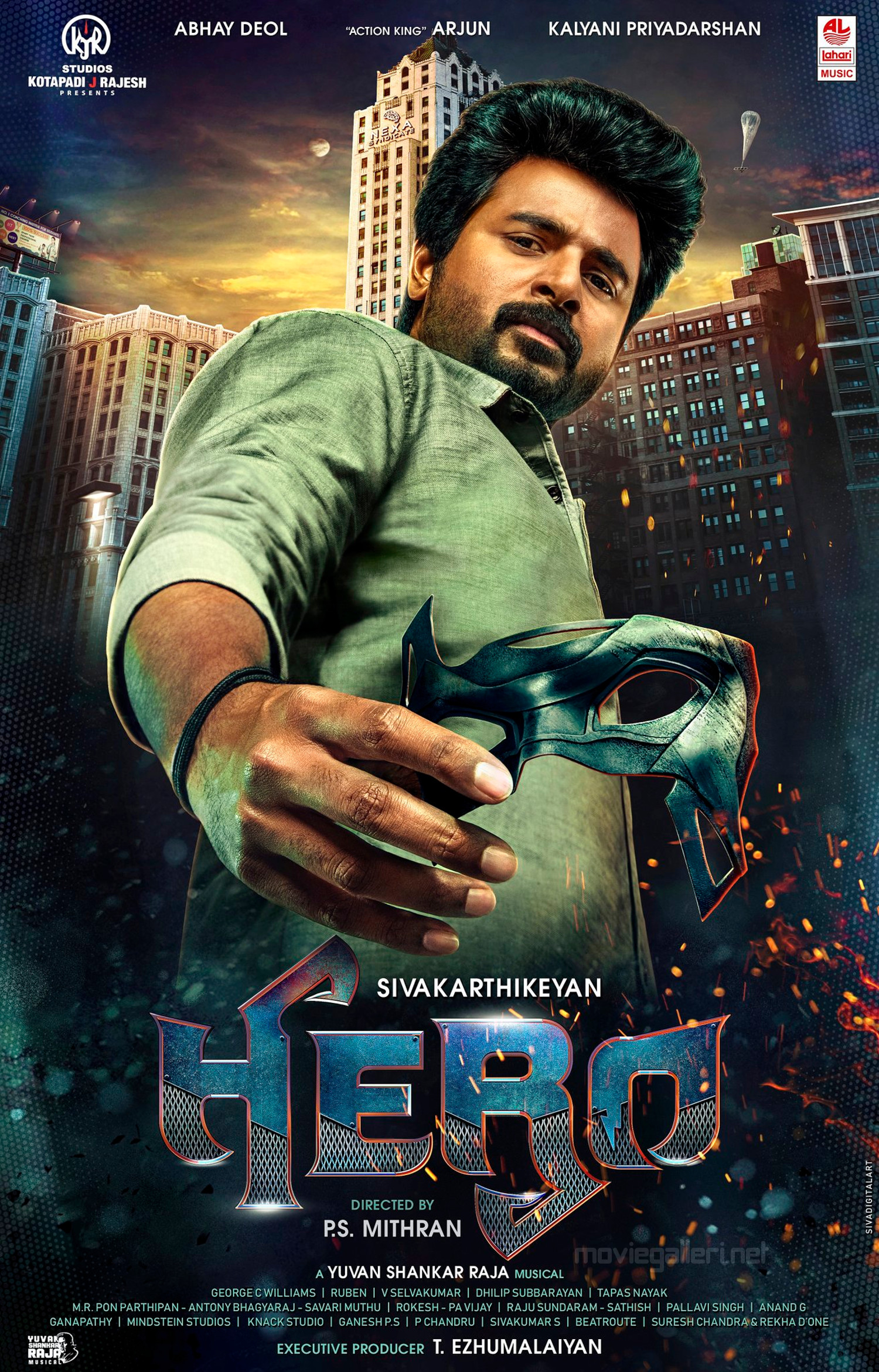 Sivakarthikeyan Hero Movie First Look Poster HD