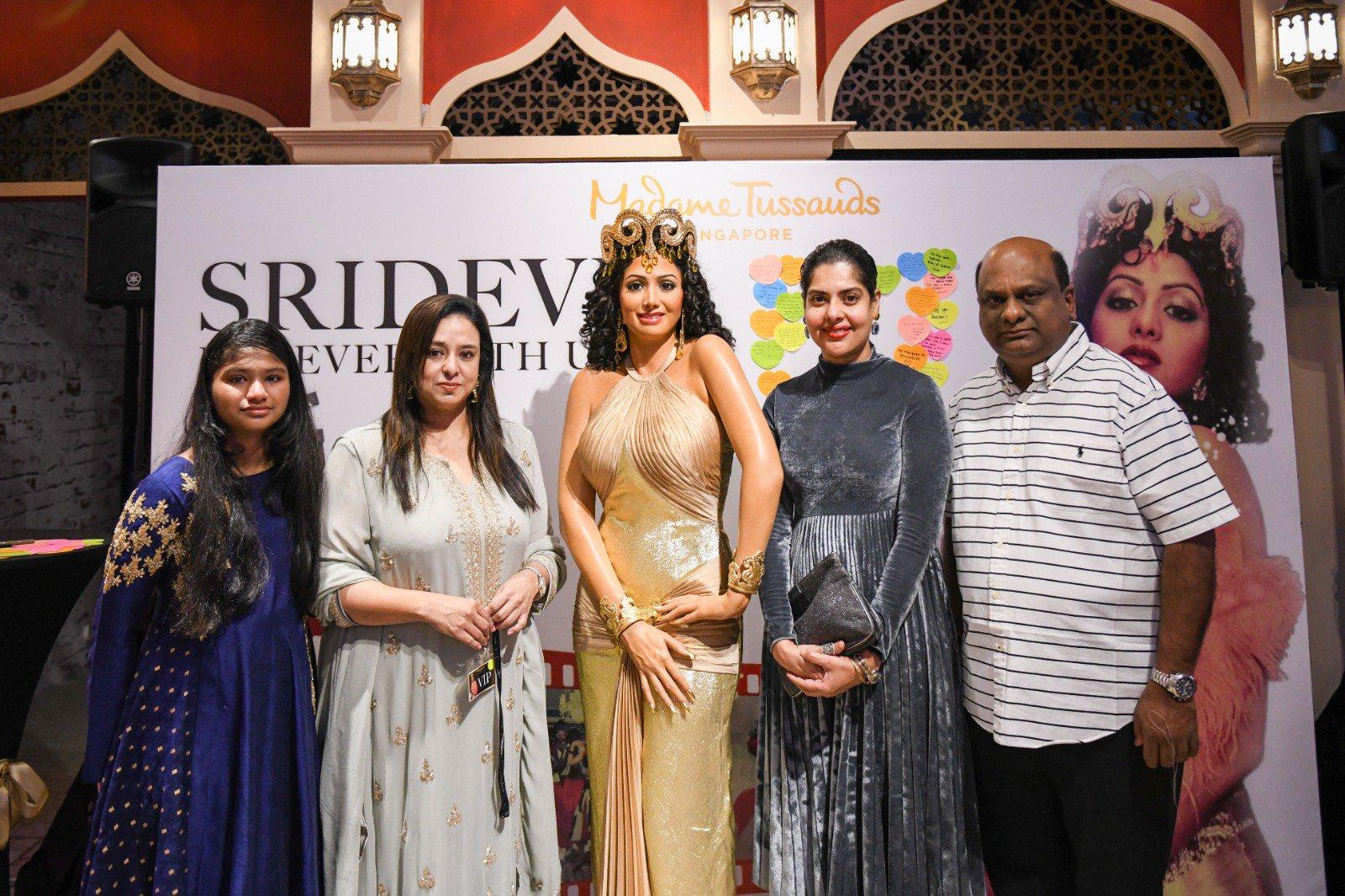Sridevi's wax figure Boney Kapoor
