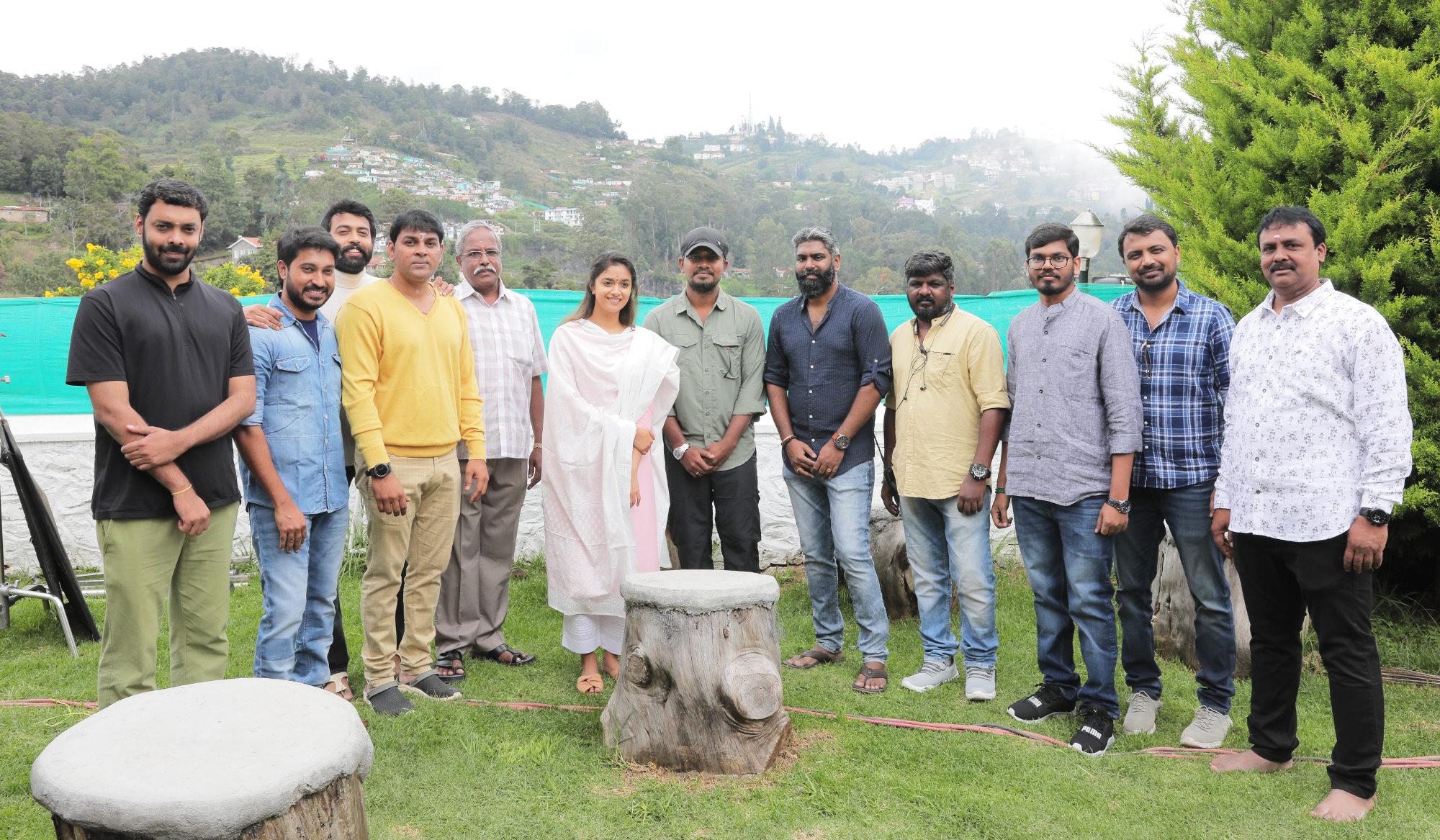 Stone Bench Films Production No.3 with Keerthy Suresh
