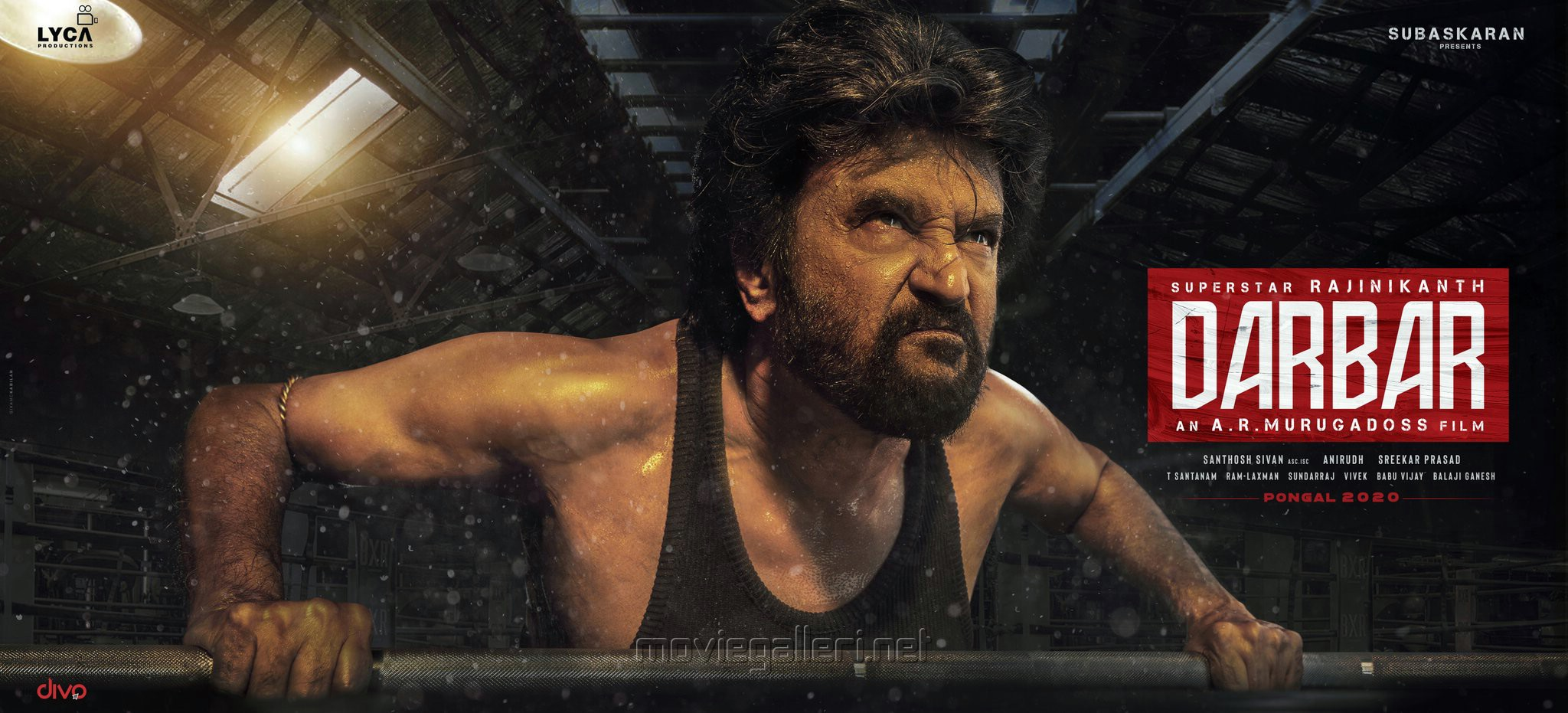 Superstar Rajinikanth Darbar Second Look Poster HD