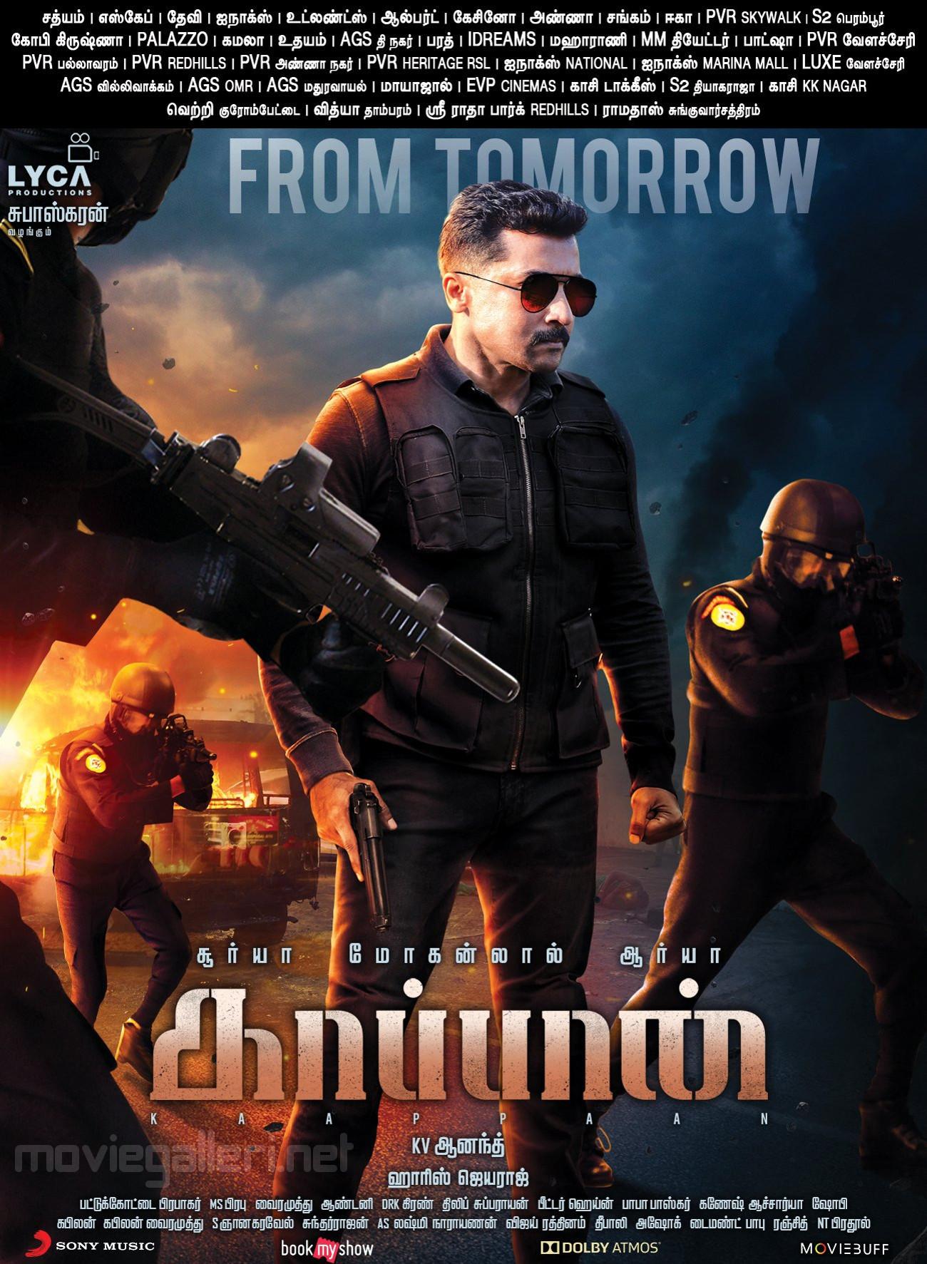 Suriya Kaappaan Movie from Tomorrow Posters HD