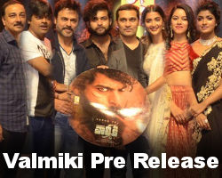 Valmiki Movie Pre Release Event Stills