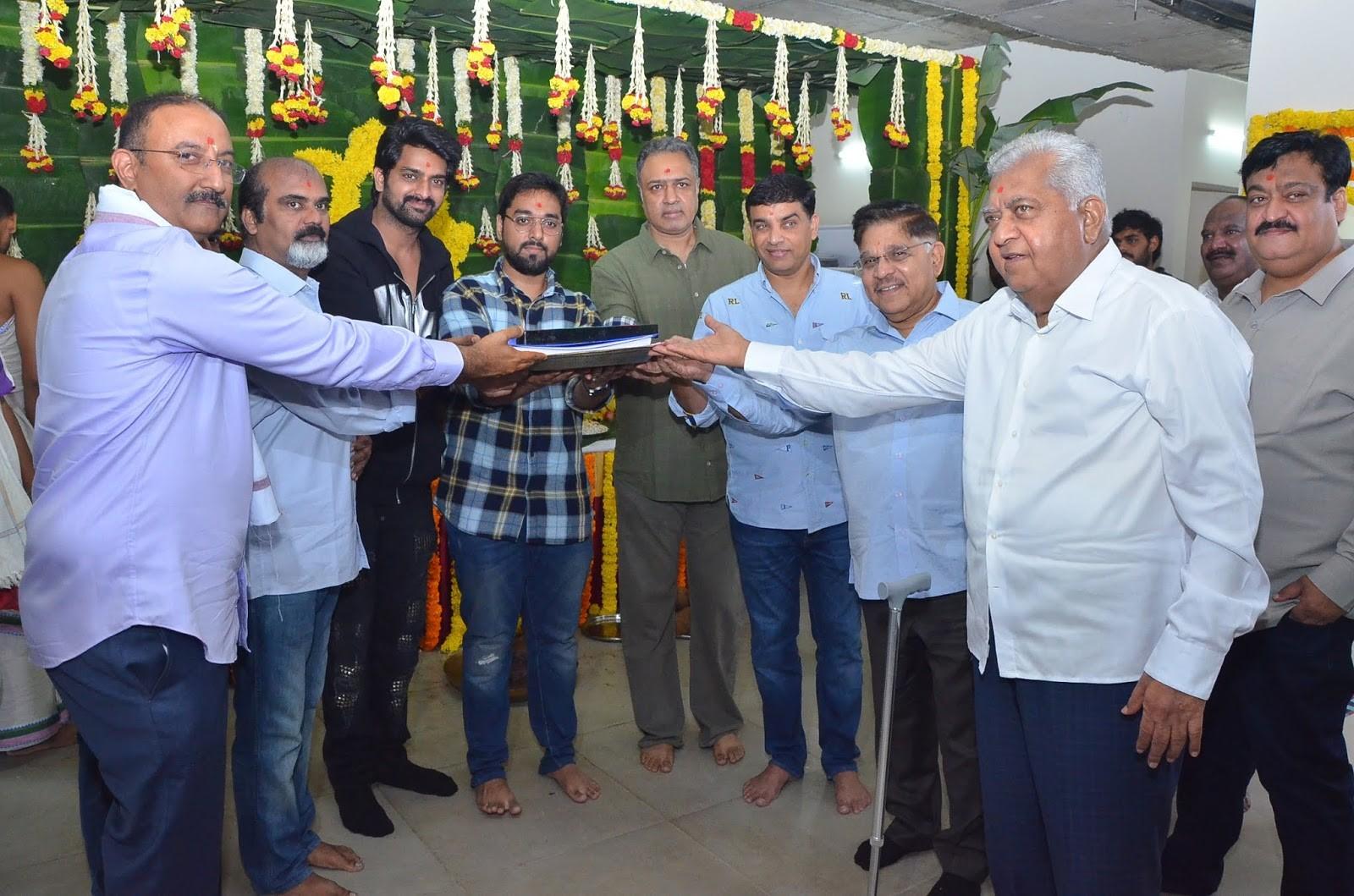 Actor Naga Shaurya Santhosh Jagarlapudi Movie Opening Stills