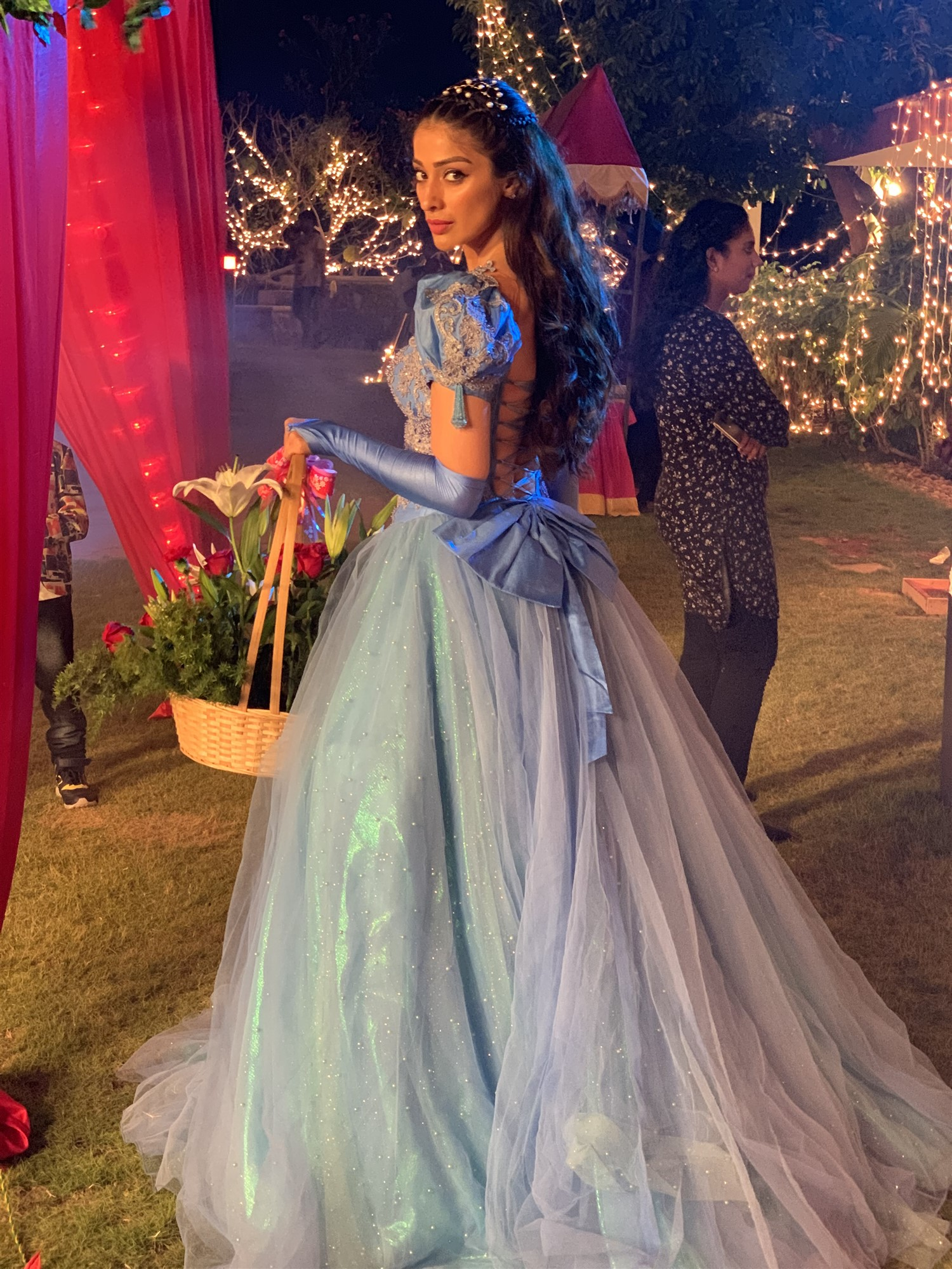 Actress Raai Laxmi @ Cinderella Movie Shooting Spot Stills
