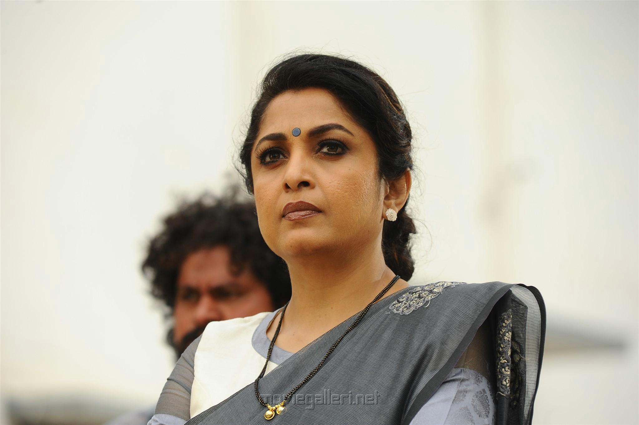 Actress Ramya Krishnan in Akash Puri ROMANTIC Movie