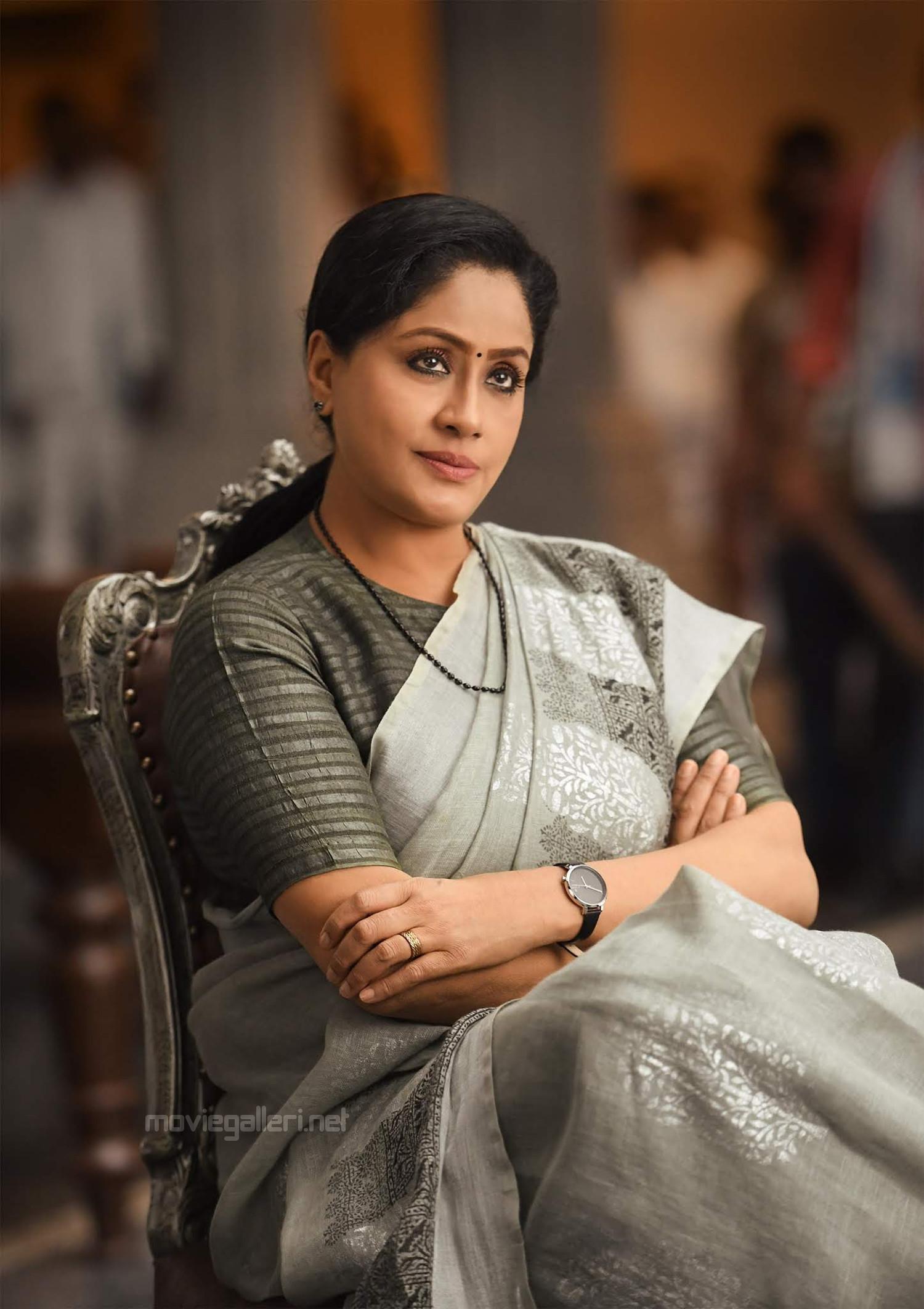 Actress Vijayashanthi as Bharathi in Sarileru Neekevvaru Movie