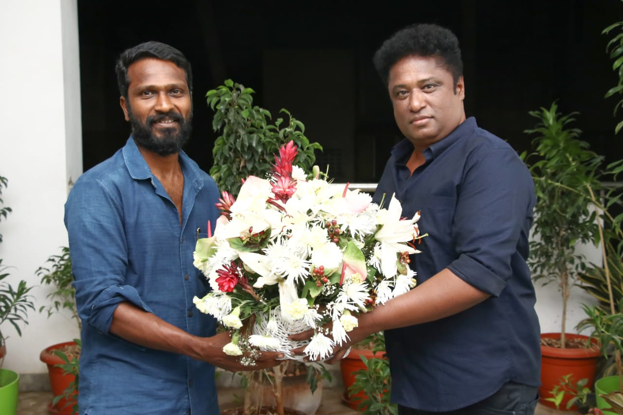 Filmmaker Vetrimaaran and Producer Elred Kumar team up for a new project