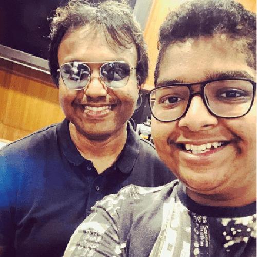 Music Director D Imman introduces Shankar Mahadevan son Shivam in Seeru Tamil Movie