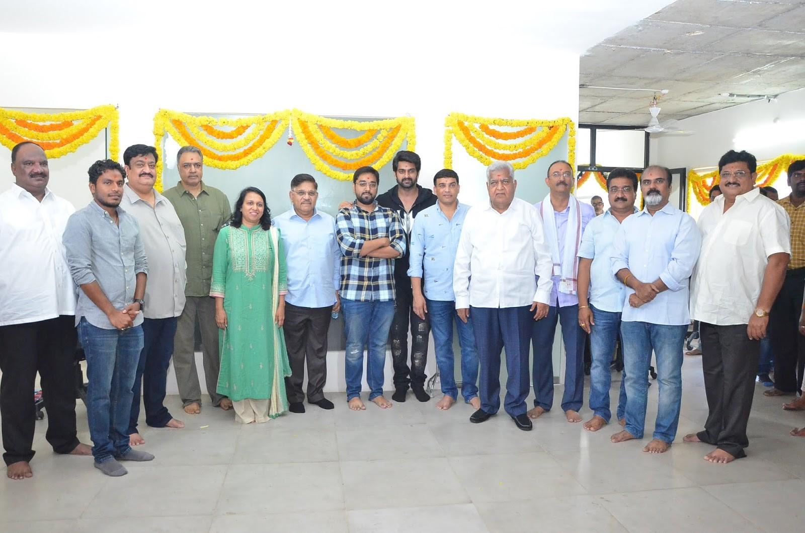 Naga Shourya Santhossh Jagarlapudi Movie Opening Stills