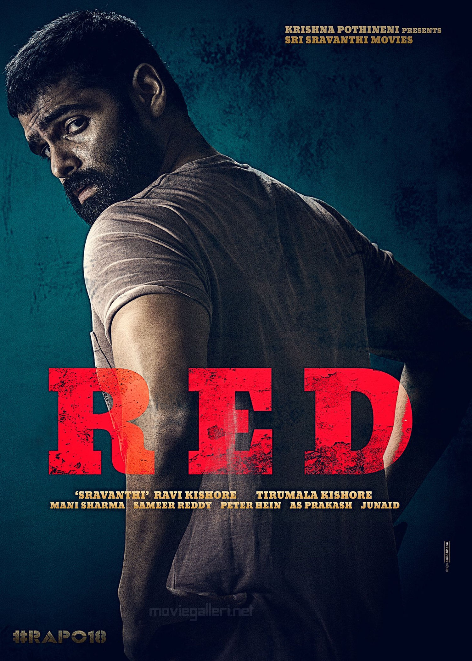 Ram Pothineni RED Movie First Look Poster Released