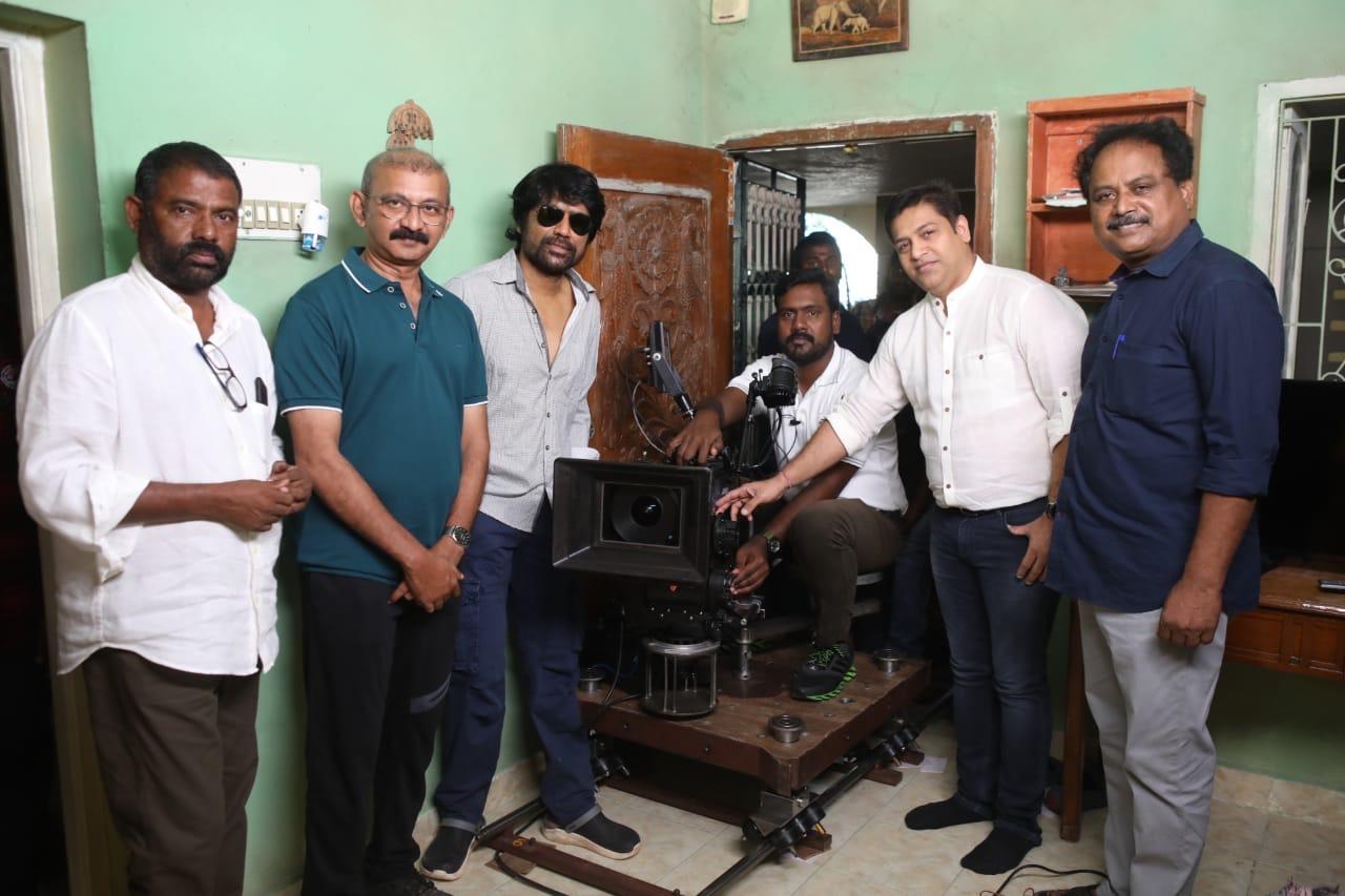 Richard M Nathan, Sunil Ra @ SJ Surya Radhamohan Movie Launch Stills
