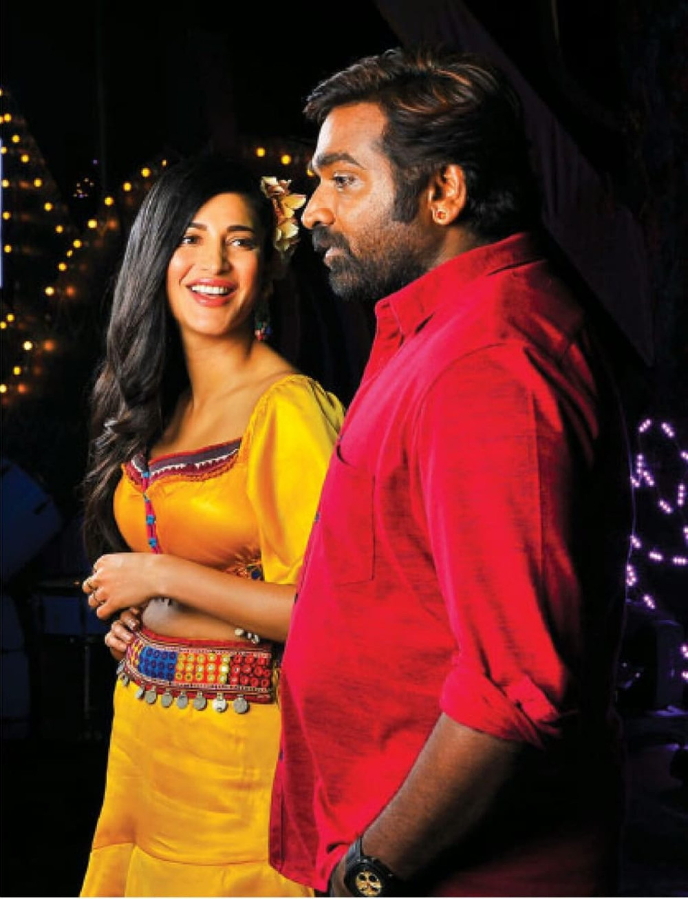 Shruti Haasan Vijay Sethupathi in Laabam Movie Pics