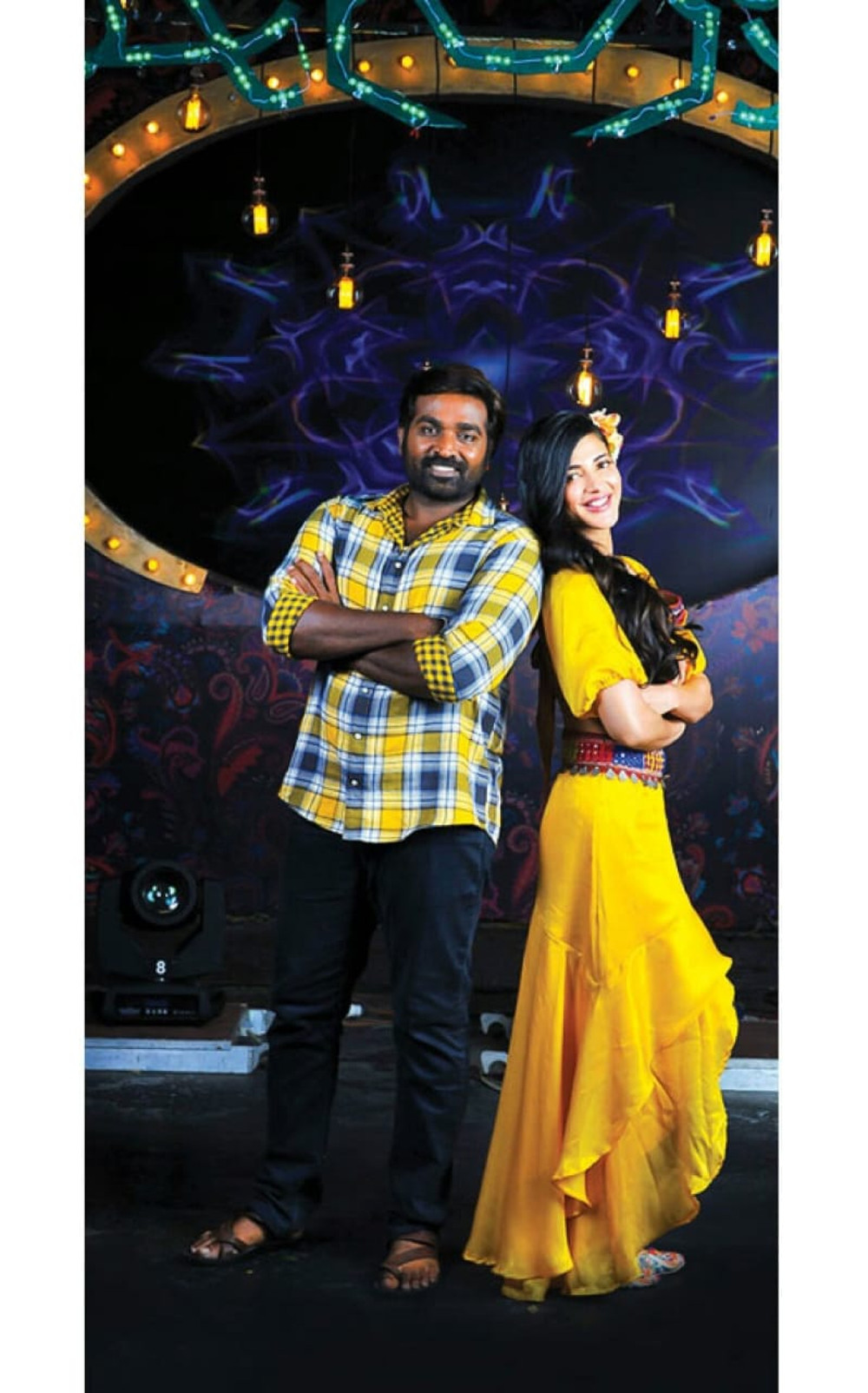Vijay Sethupathi Shruti Haasan in Laabam Movie Pics
