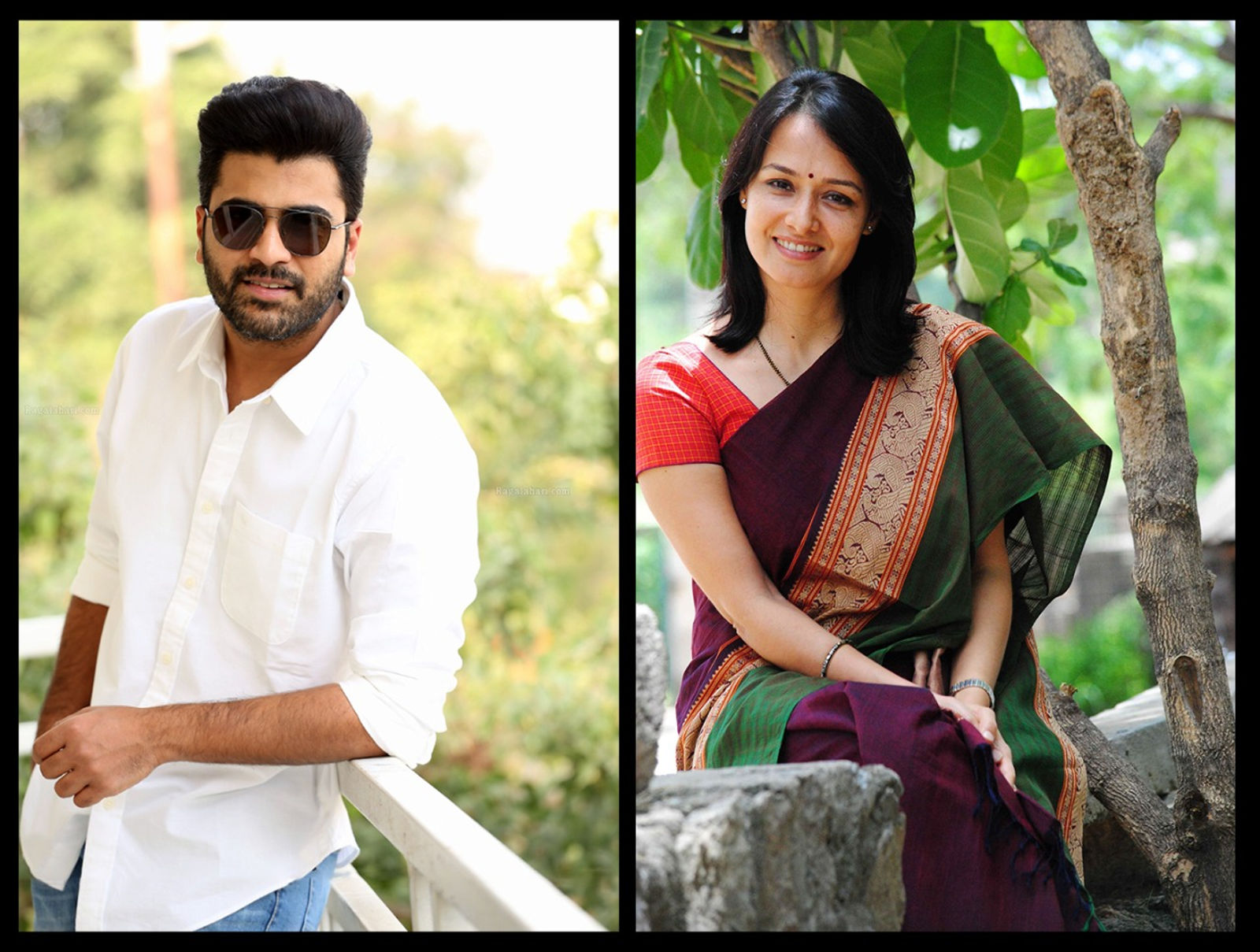 Actress Amala Akkineni in Sharwanand and Dream Warrior Pictures' banner Film