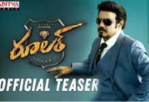 Balakrishna Ruler Movie Teaser