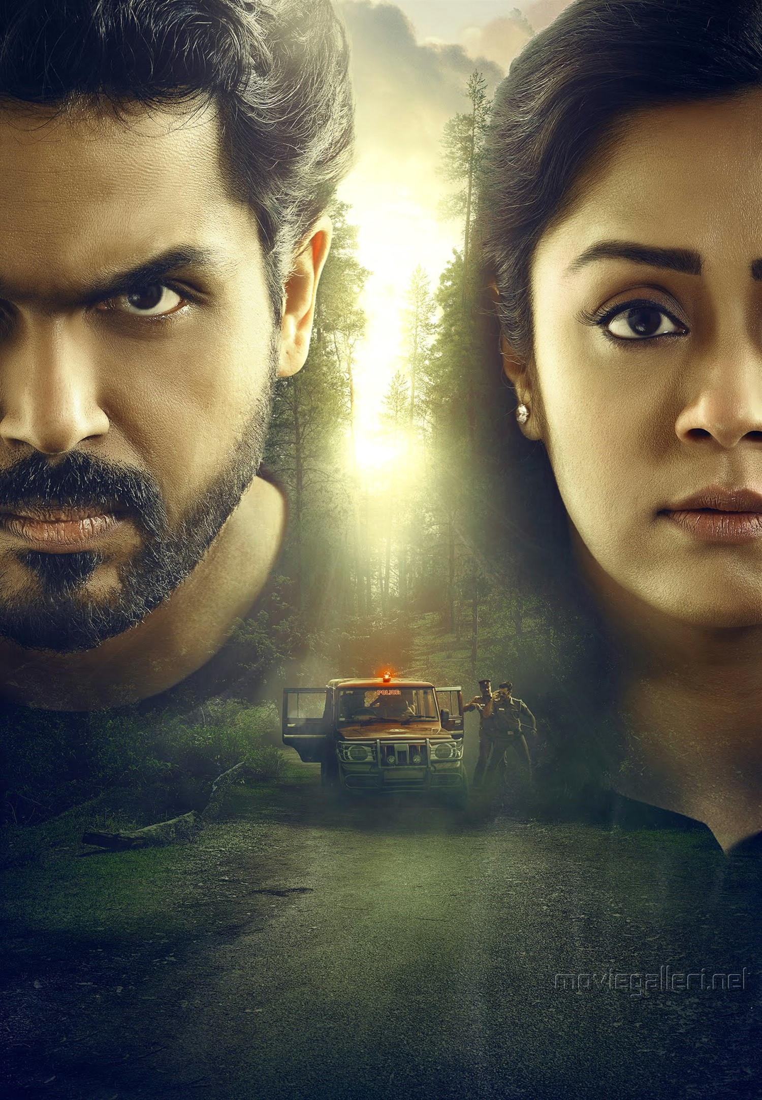 Donga Movie Karthi Jyothika First Look HD Image