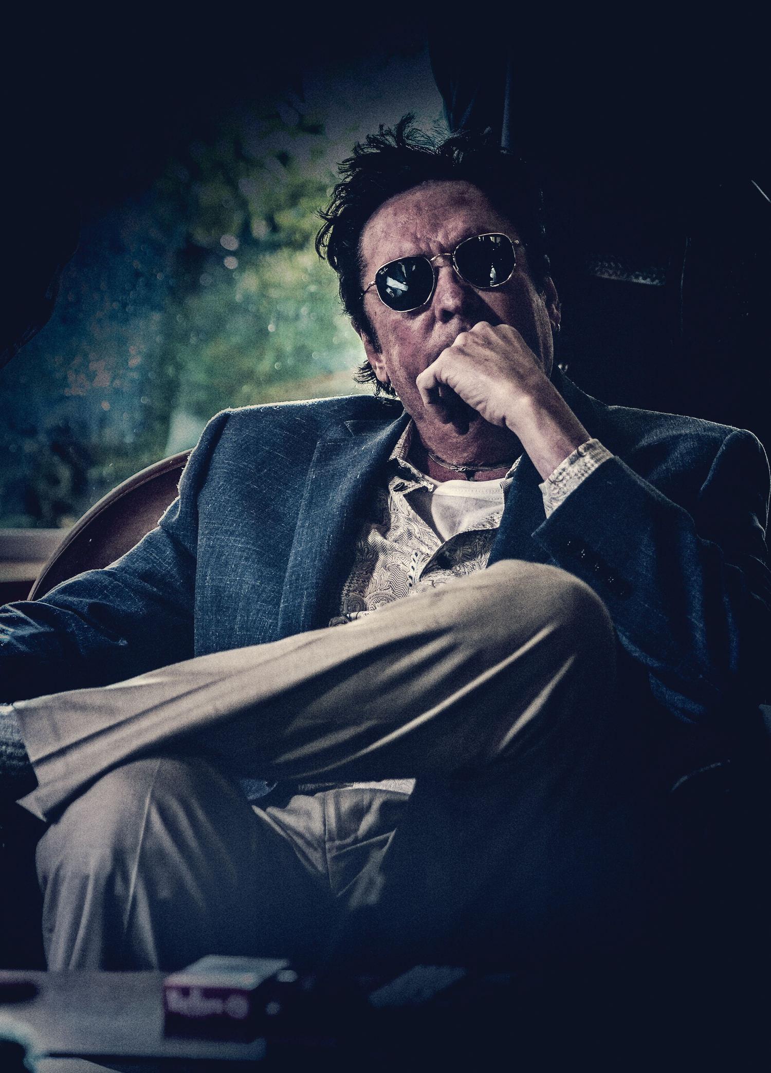 Hollywood actor Michael Madsen in Nishabdham Movie