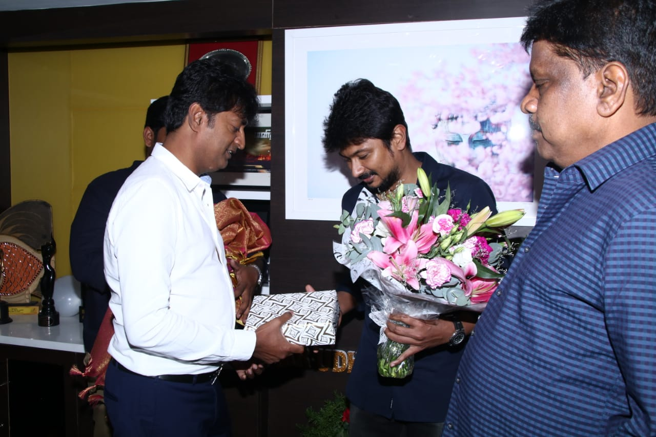 Producer Arun Mozhi Manickam wishes Udhayanidhi Stalin on his birthday