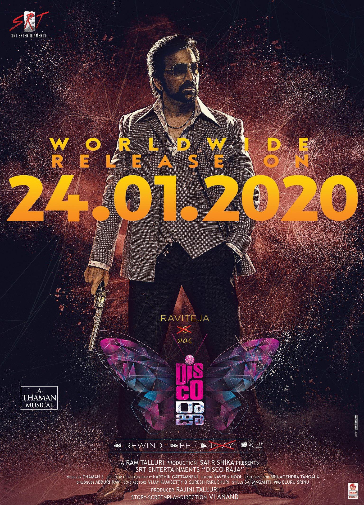 Ravi Teja Disco Raja Movie Release on January 24th