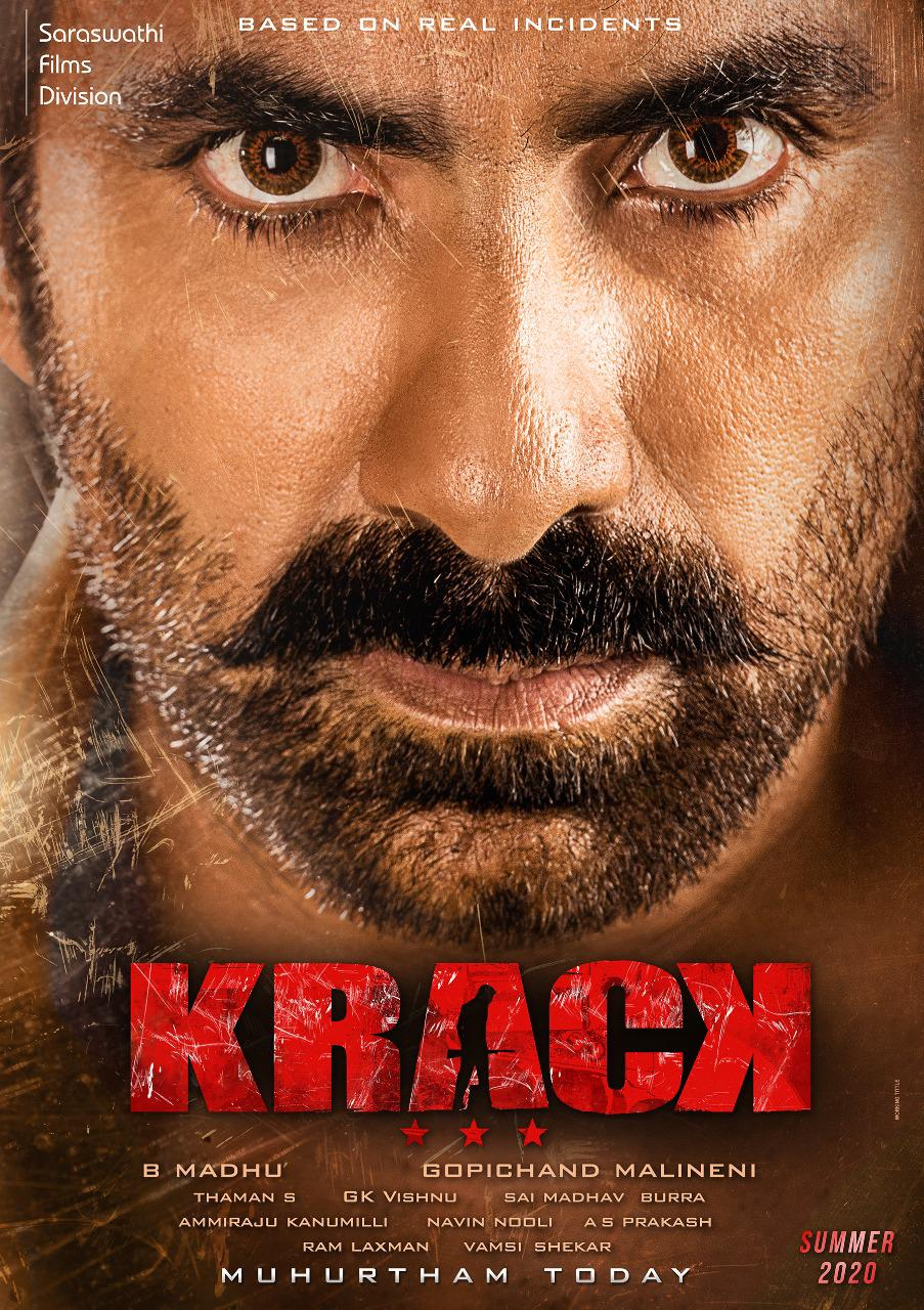 Ravi Teja, Shruti Haasan New Movie titled KRACK