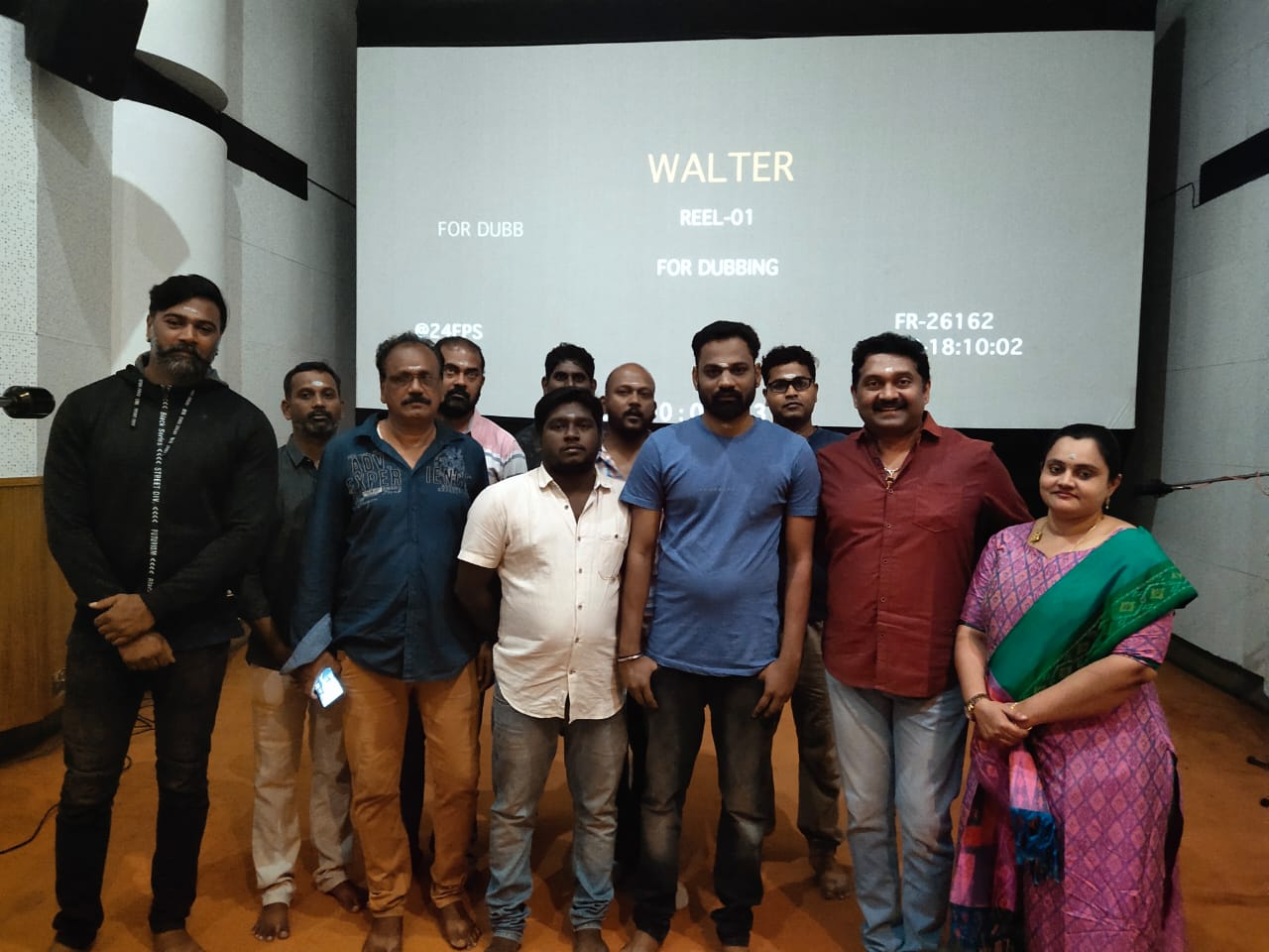 Sibiraj's Walter movie dubbing works started