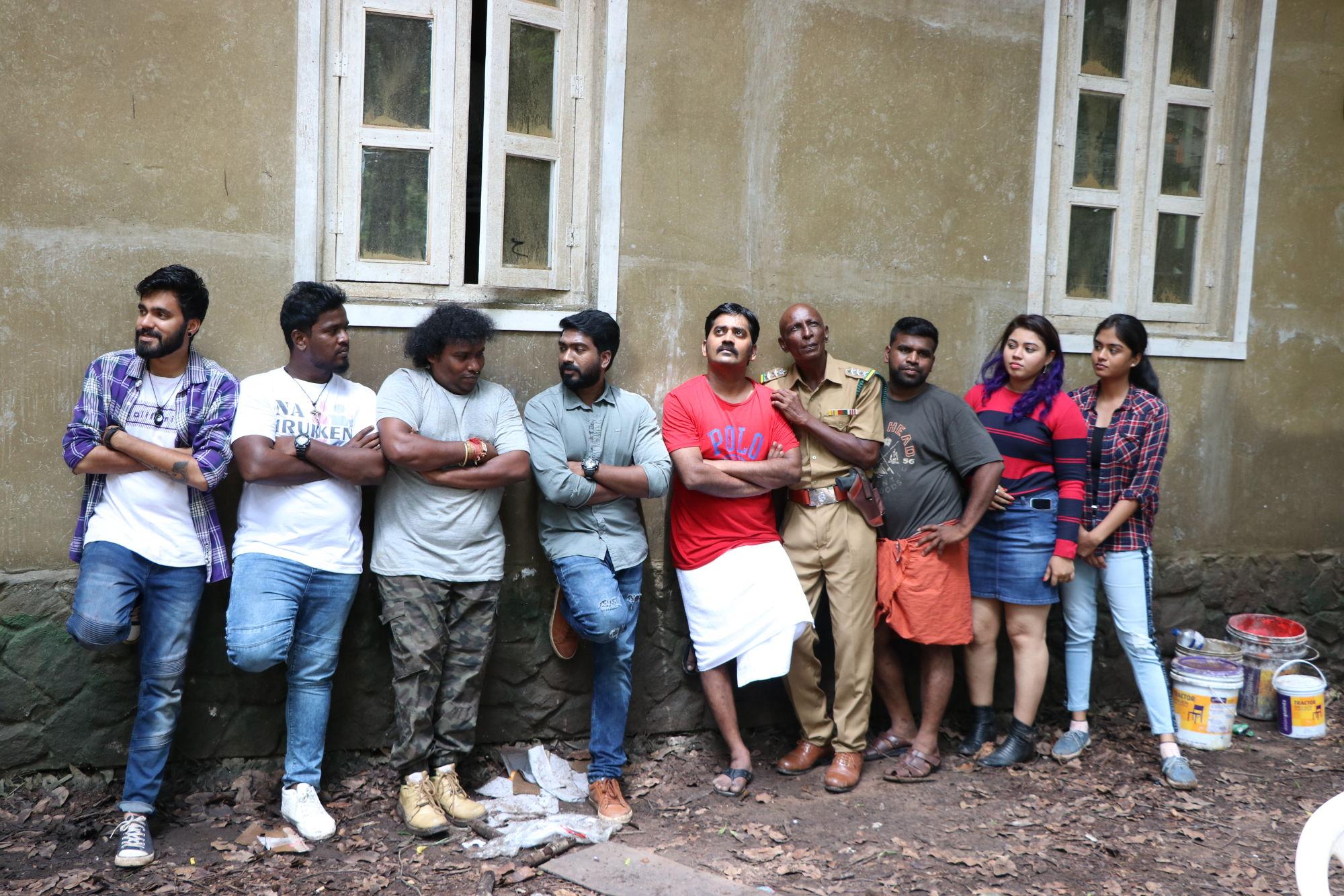 Trip Movie Shooting in Talakona and Kodaikanal