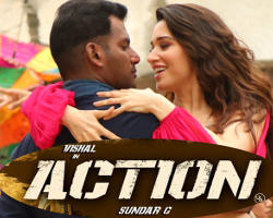 Vishal Tamannaah Action Movie HD Images