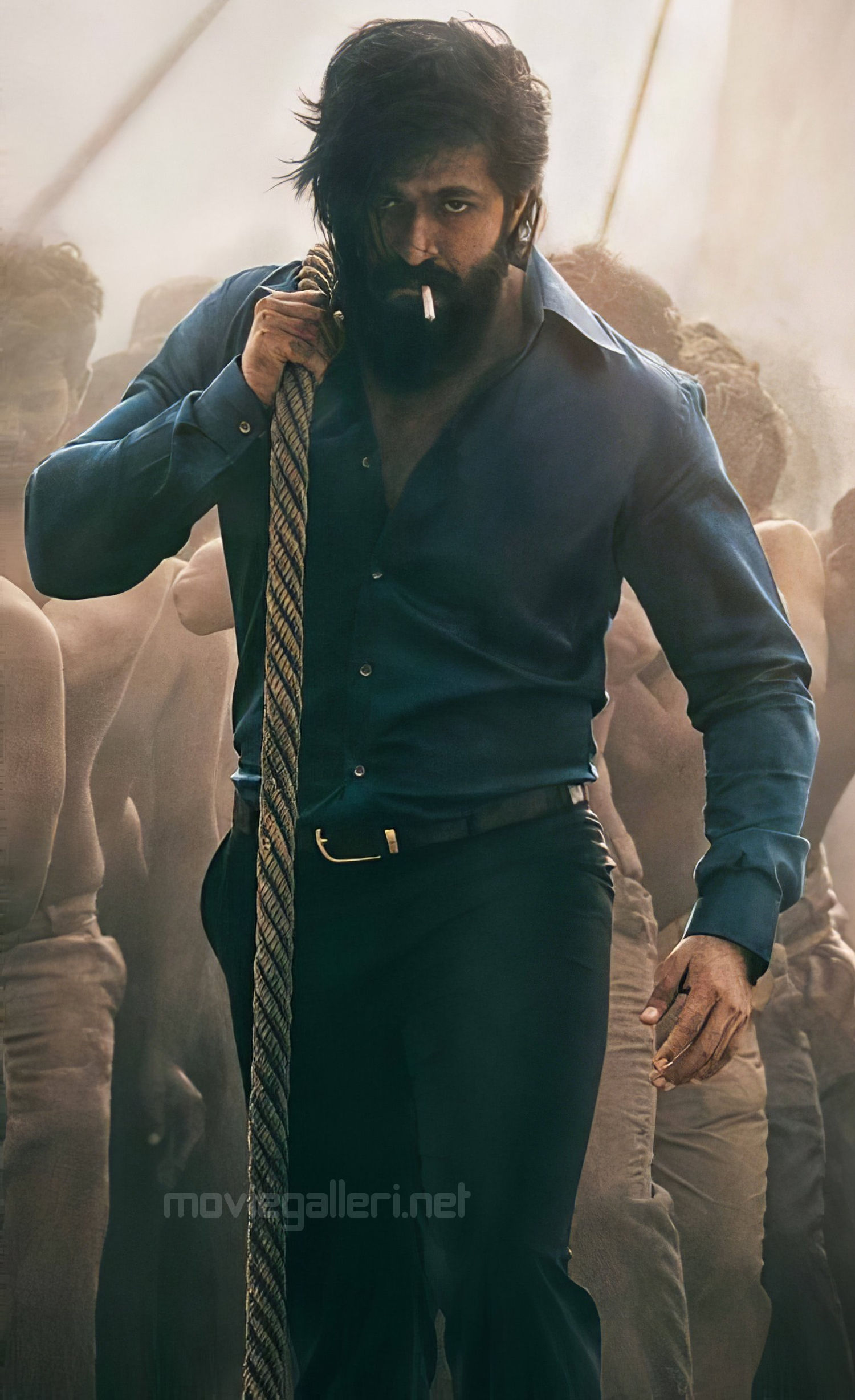 Actor Yash KGF2 Movie First Look HD Picture