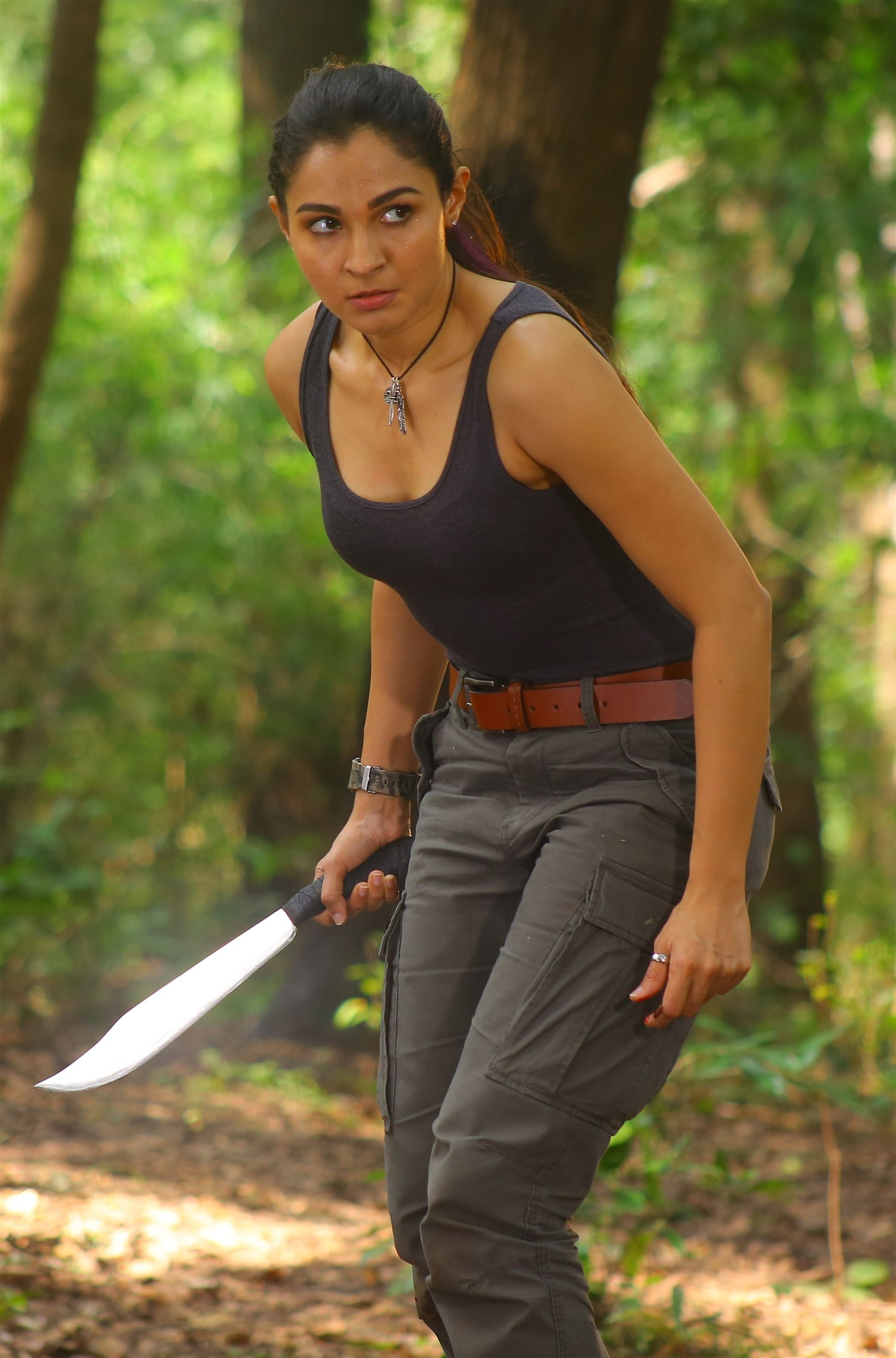 Tamil Actress Andrea Kaa Movie Stills