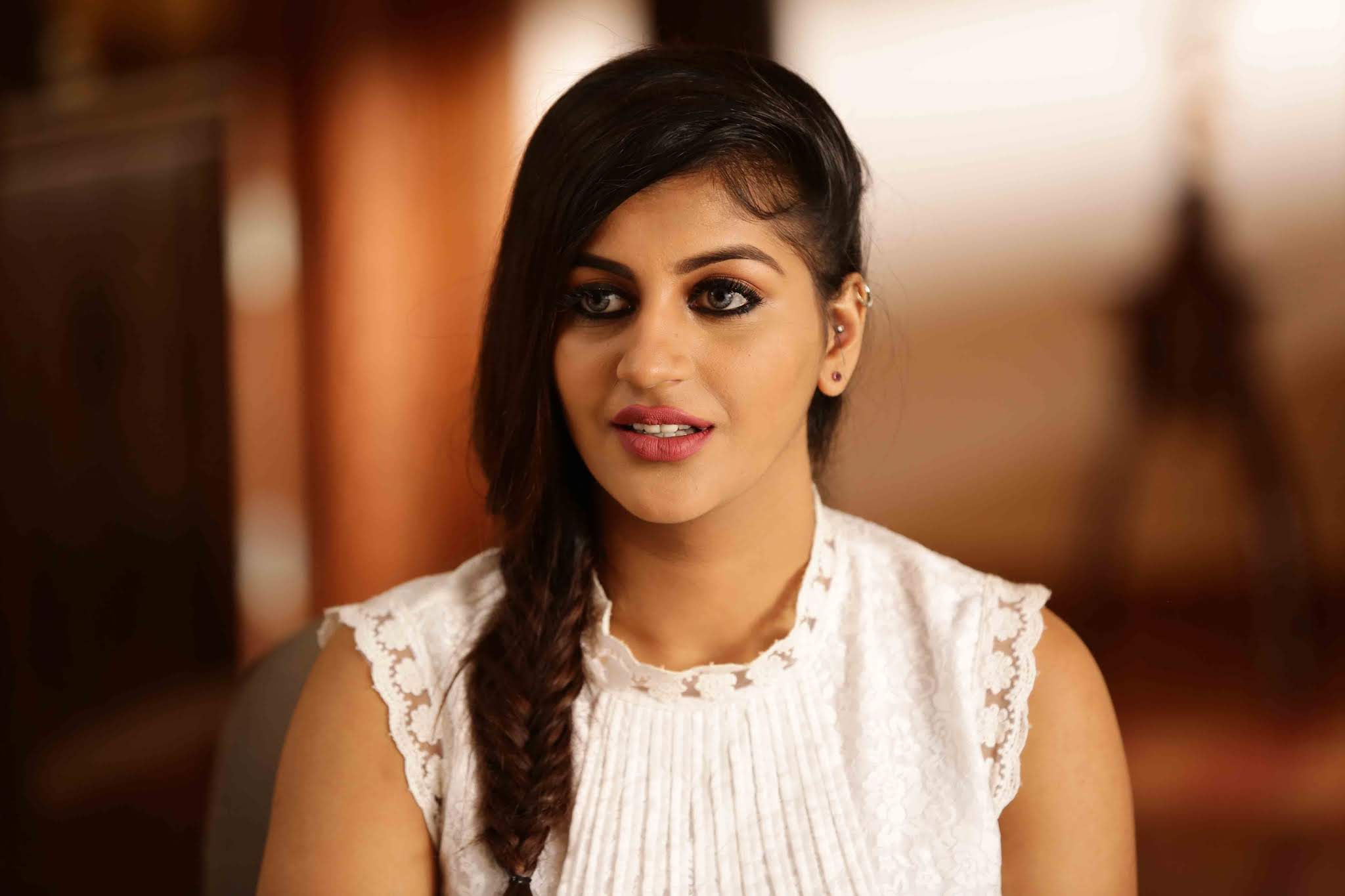 Actress Yashika Anand surprising appearance in Raja Bheema Movie