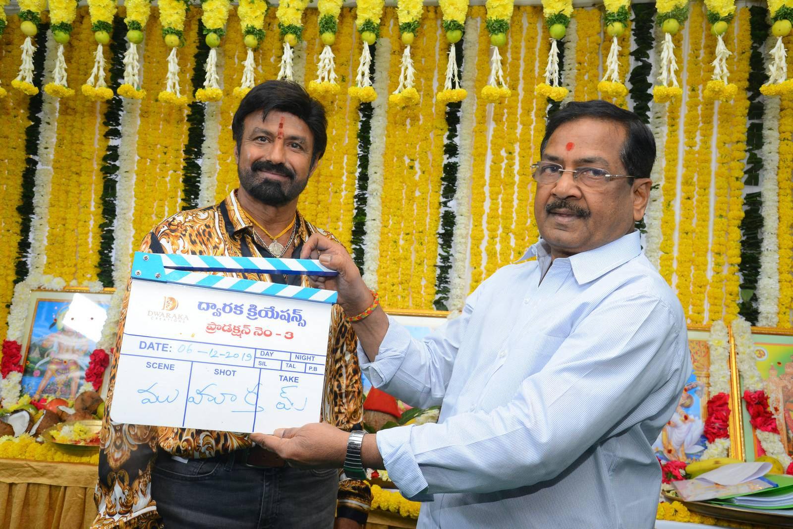 Nandamuri Balakrishna Boyapati Srinu's New Movie Launched