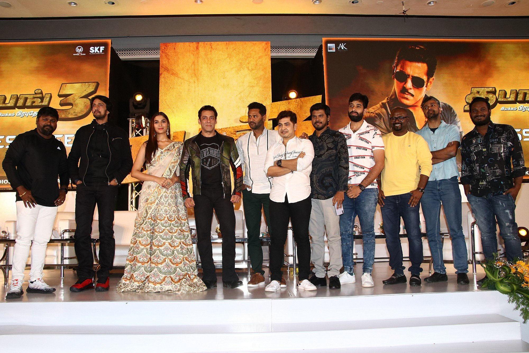 Dabangg 3 Tamil Pre-Release Event
