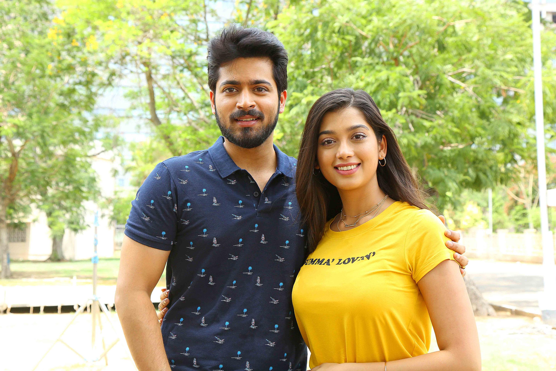 Harish Kalyan Digangana Suryavanshi on Dhanusu Raasi Neyargale Movie