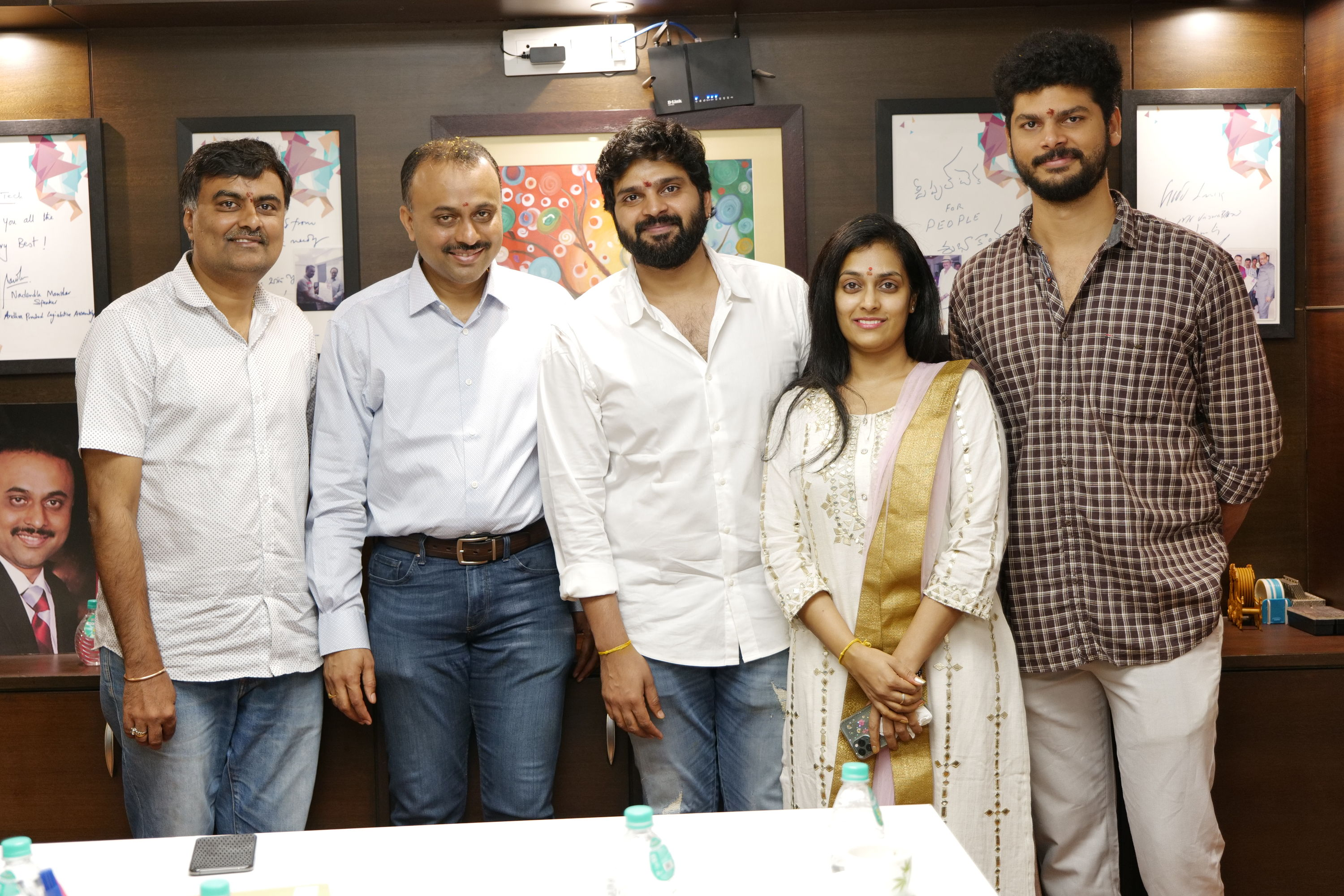 Sree Vishnu, Hasith Goli, People Media Factory and Abhishek Agarwal Art LLP. Film Launched