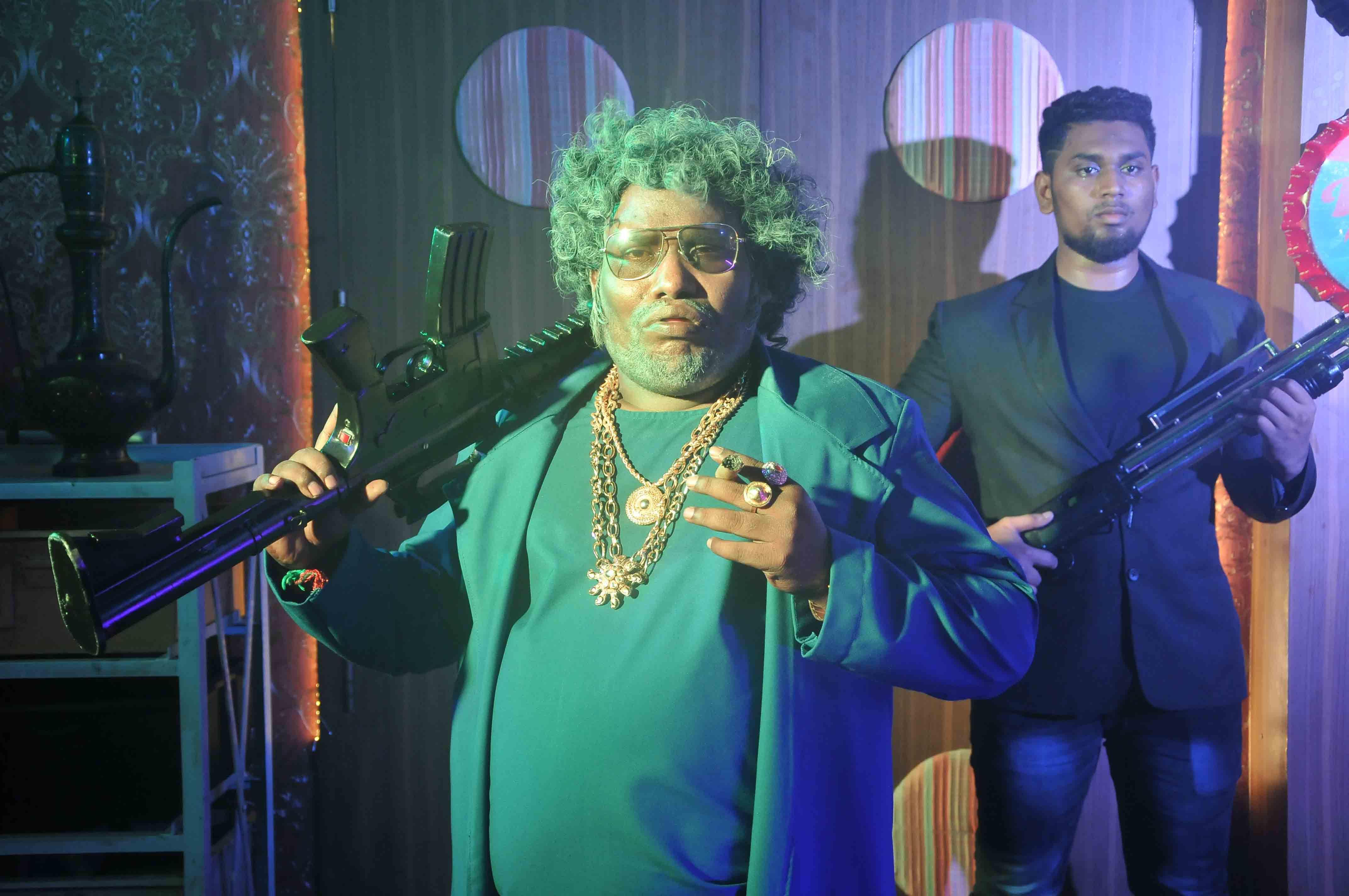 Actor Yogi Babu's dual role as father and son in Siddarth's 'Takkar'
