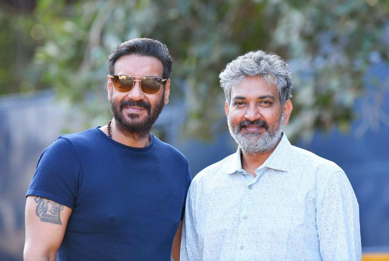 Ajay Devgn joins SS Rajamouli's RRR Movie Shooting