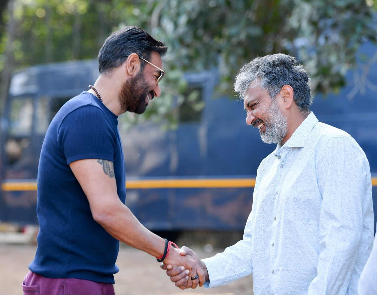 Bollywood Star Ajay Devgn Starts Shooting for SS Rajamouli's RRR