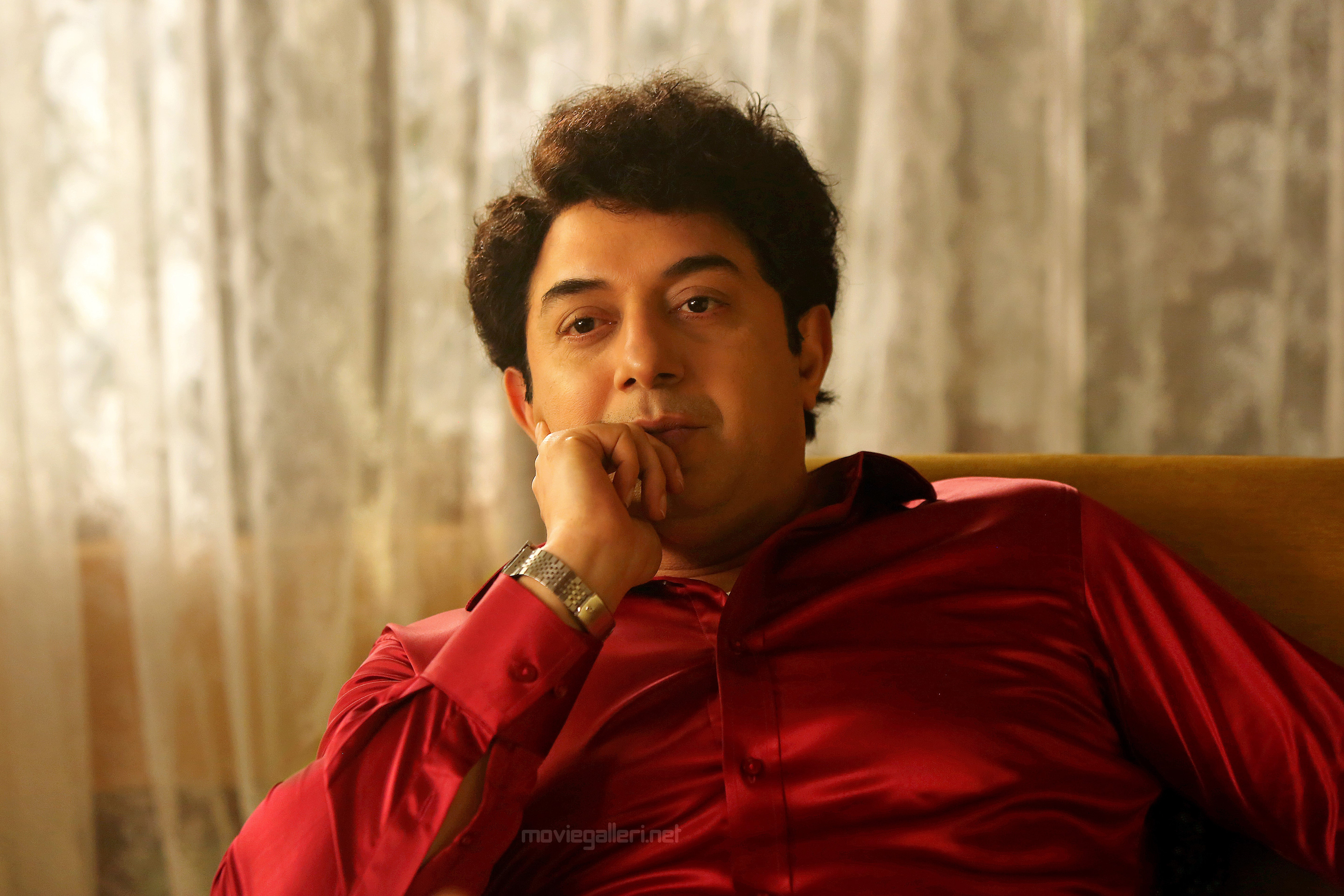 Thalaivi Movie Arvind Swamy as MGR First Look HD Images