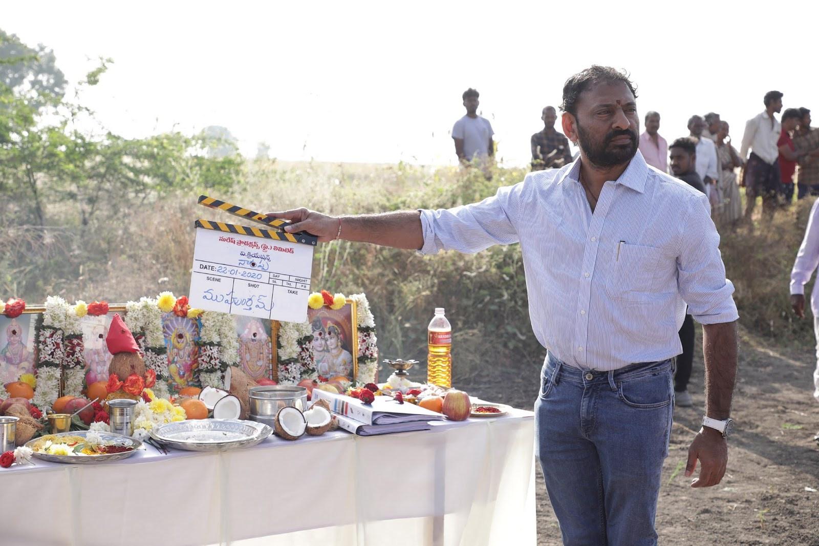 Venkatesh's Movie 'Naarappa' Shooting Begins in Ananthapur
