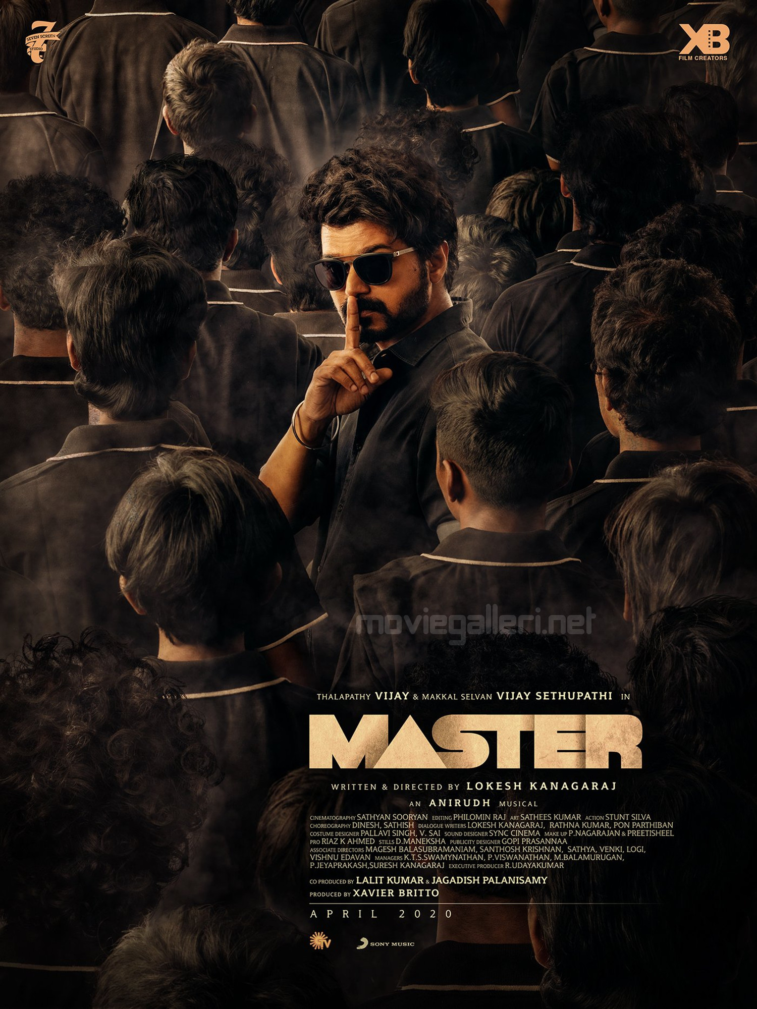 Vijay Master Movie Second Look Poster HD