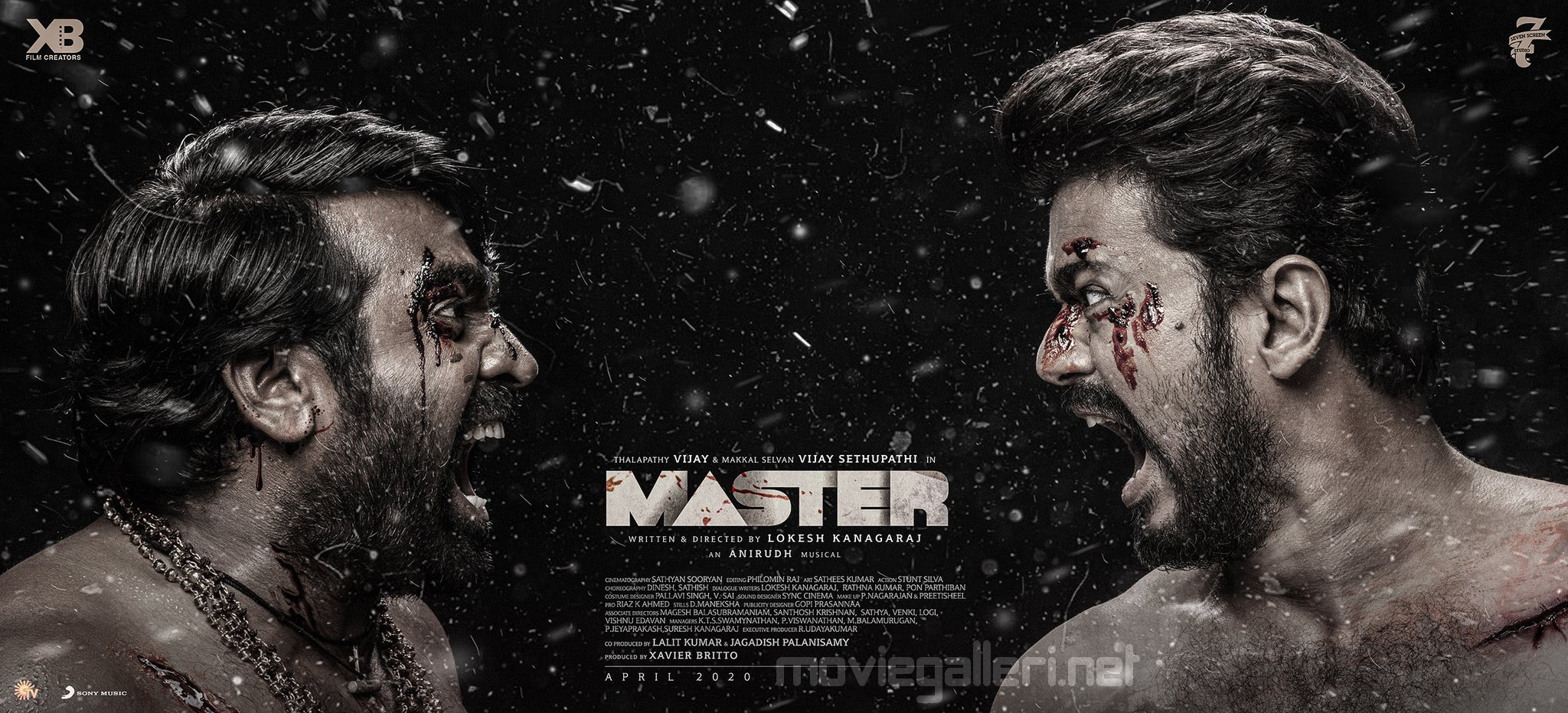 Vijay Sethupathi Vijay Master Movie Third Look Wallpaper HD