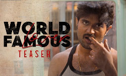 Vijay Deverakonda World Famous Lover Teaser