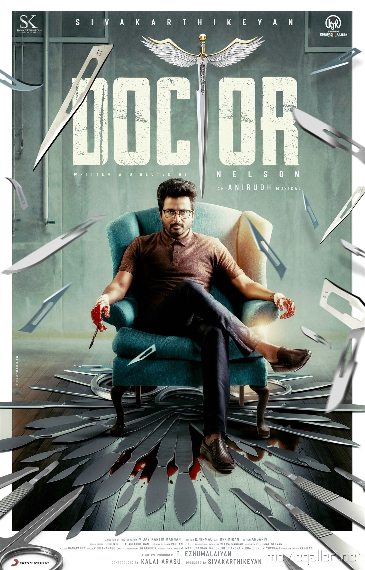 Sivakarthikeyan Doctor Movie First Look Poster HD