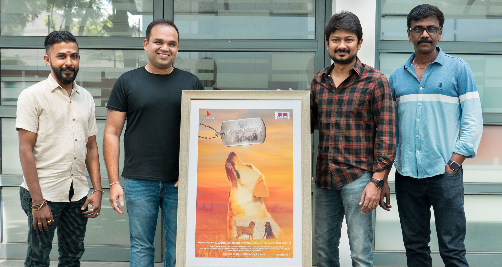 showers of praises for 'Anbulla Ghilli' first look