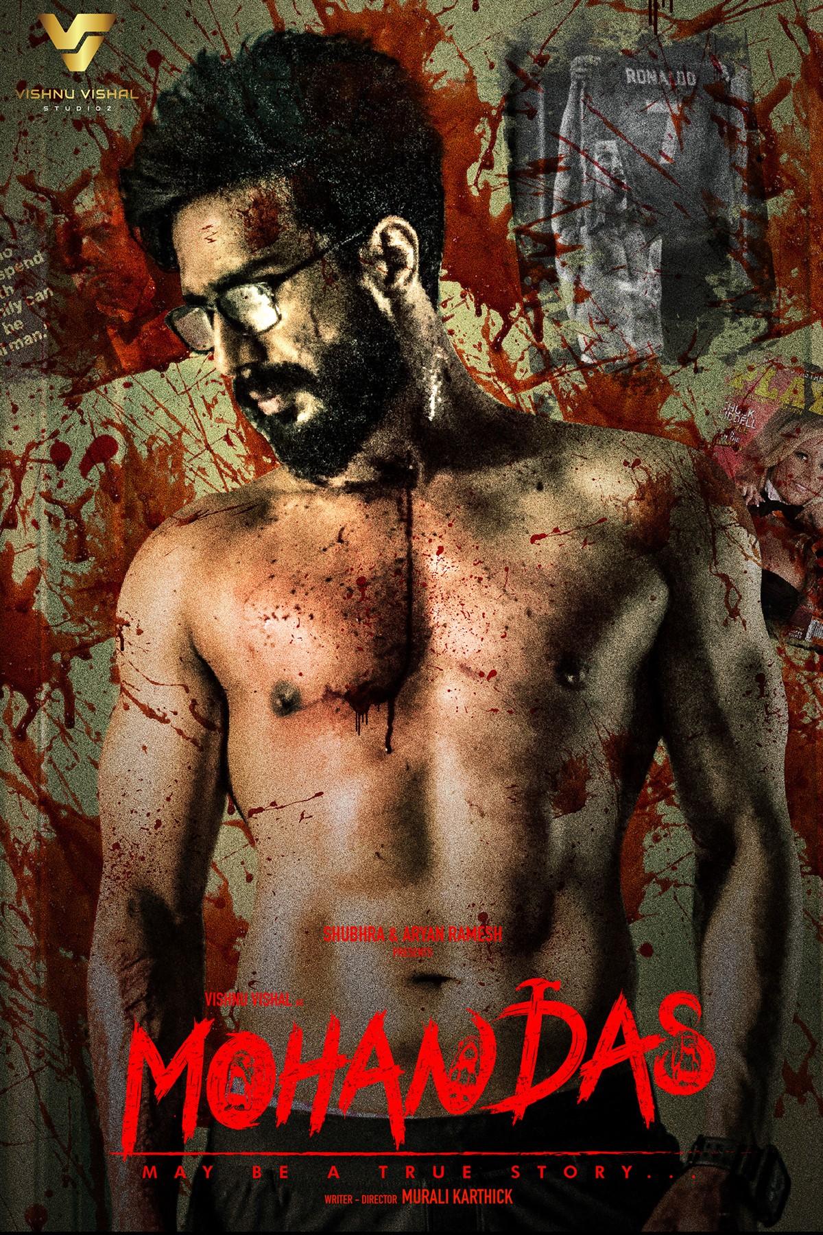 Actor Vishnu Vishal Mohandas Movie First Look Poster HD